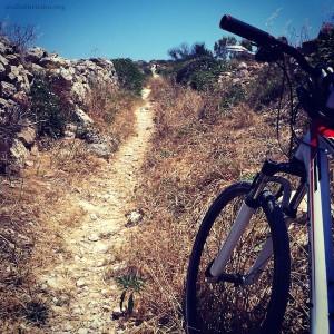 Colina de Munxar en Bicleta