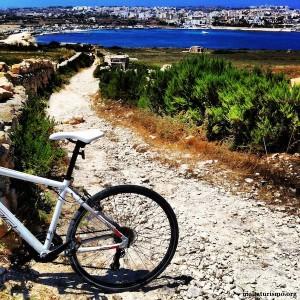 Colina de Munxar en Bicicleta