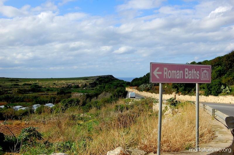 baños romanos tuffieha malta