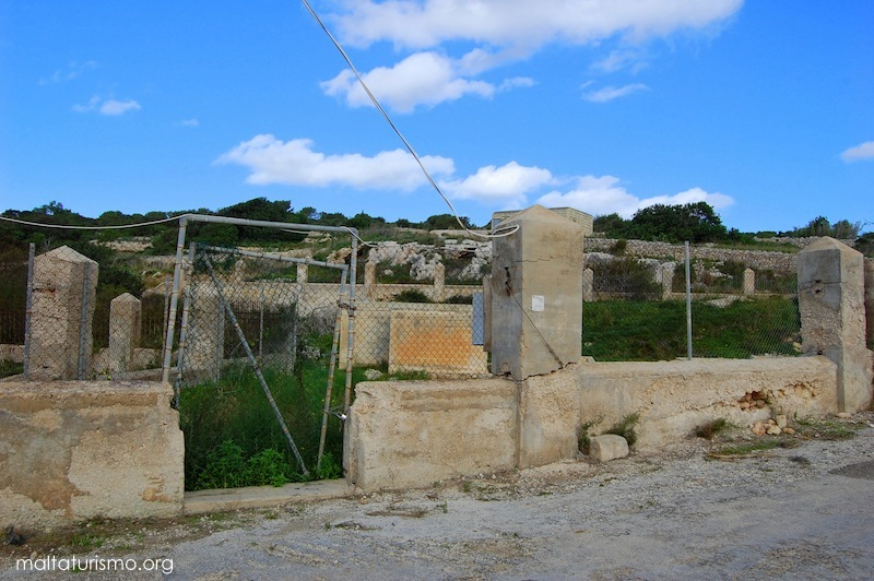 entrada baños romanos tuffieha malta