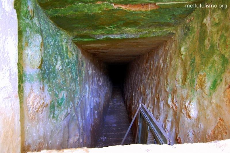 Tunel secreto baños romanos