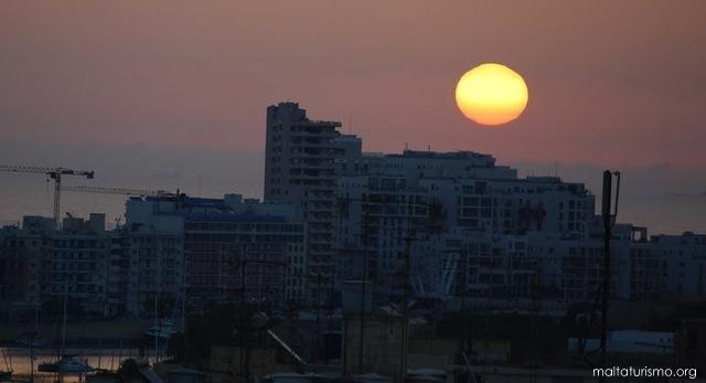 Edificios modernos en Sliema