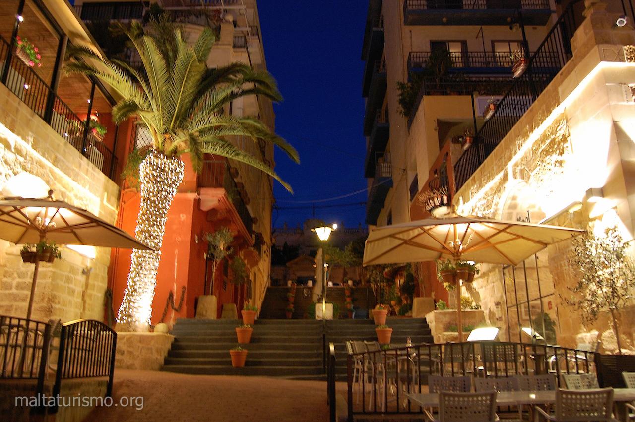 Calle de restaurantes