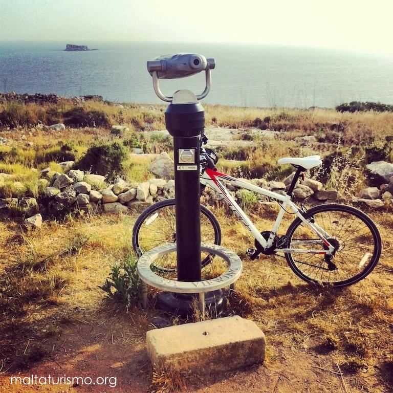 Recorrer Malta en Bicicleta