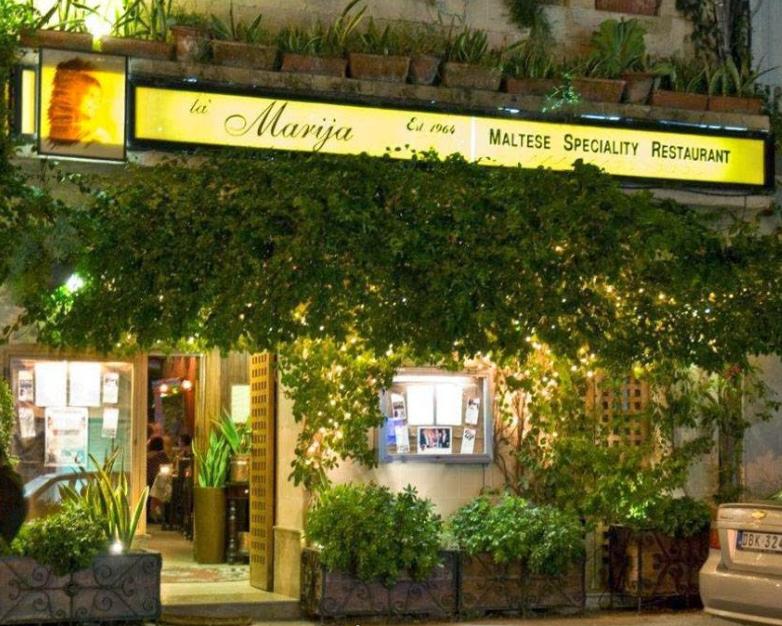 Comer en Malta – Restaurante Ta'Marija