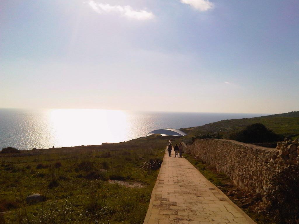Camino al templo de Mnajdra - Malta