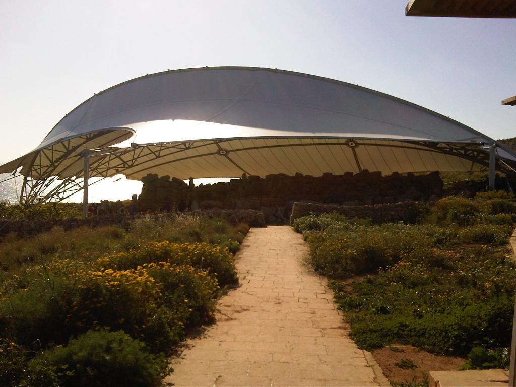 Mnajdra desde afuera - Malta