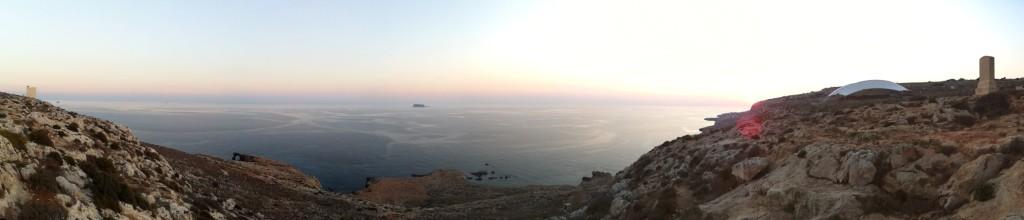 Vista Panoramica desde Hagar Qim - Malta