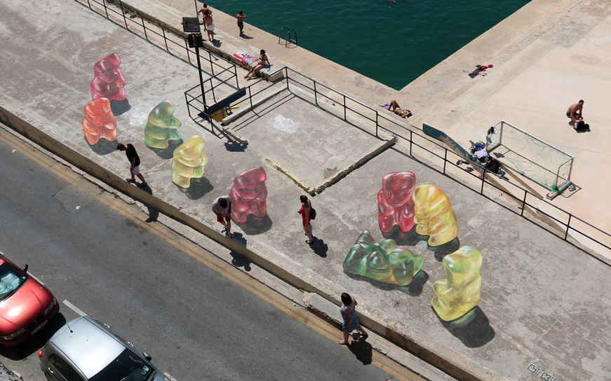 Osos 3D en Valletta