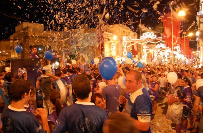 celebracion de festas en Victoria - Gozo