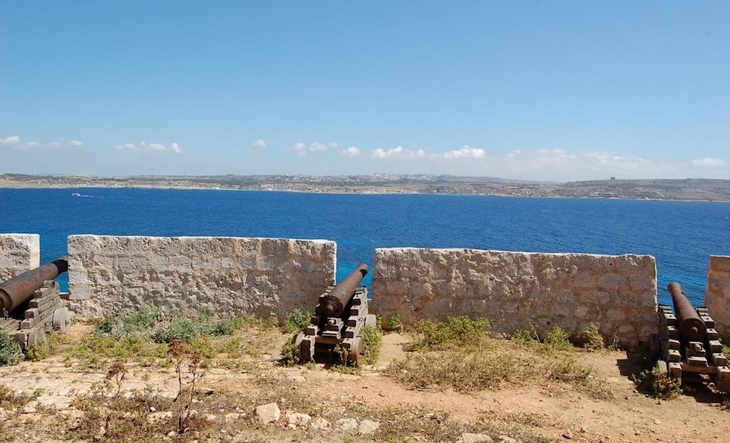 Batería Santa María Comino Malta