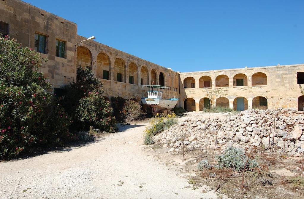 Antiguo Convento en Comino Malta